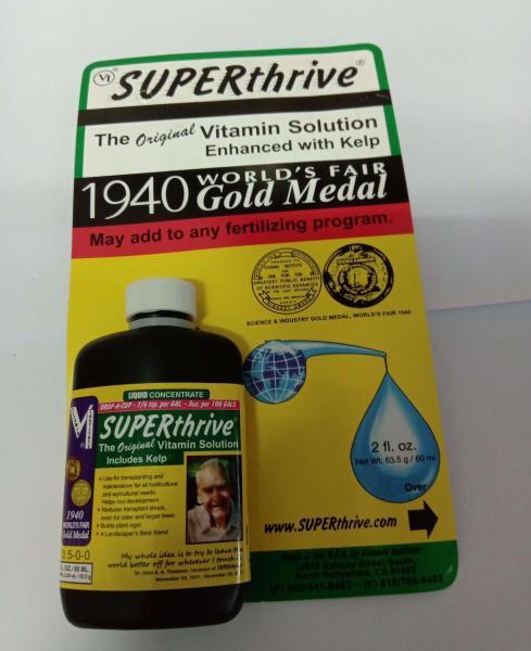Superthrive 60ml 100% từ MỸ bổ sung 50 hoóc-môn nhắm phá vỡ sự chậm phát triển của cây giúp cây phát triển rễ và chồi nhỏ