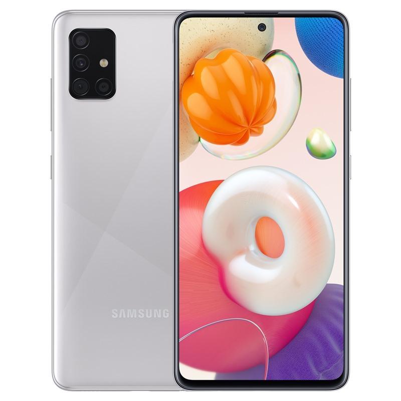 Điện thoại Samsung Galaxy A51 (6GB/128GB)- Bộ 4 camera sau chính 48MB Màn hình tràn viền 6.5 Super AMOLED Độ phân giải 2K+ Pin 4500mAh Hàng Chính Hãng - Bảo hành 12 Tháng, Bổ sung màu Bạc Inox mới