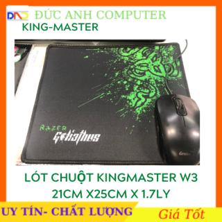 [HCM]Miếng lót chuột lót chuột Kingmaster W3- BO VIỀN (210 x 250 x 1-7 mm) - dành cho game thủ sản phẩm tốt chất lượng cao cam kết hàng giống mô tả thumbnail