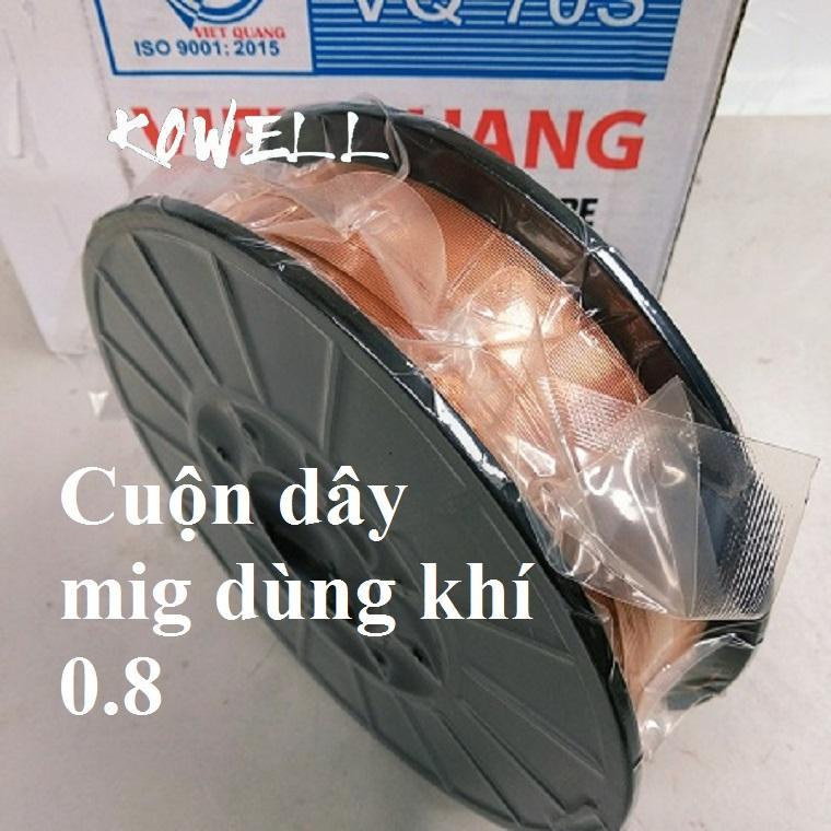 Cuộn dây hàn mig 5kg - không dùng khí - Inox 304 - 0.8-1.0