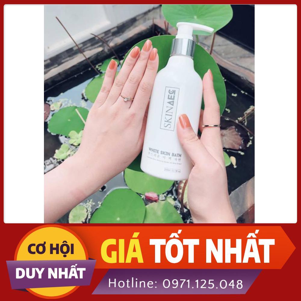 Sữa tắm ủ kích trắng da than hoạt tính SKIN AEC , trắng ngay sau lần sử dụng đầu tiên nhập khẩu