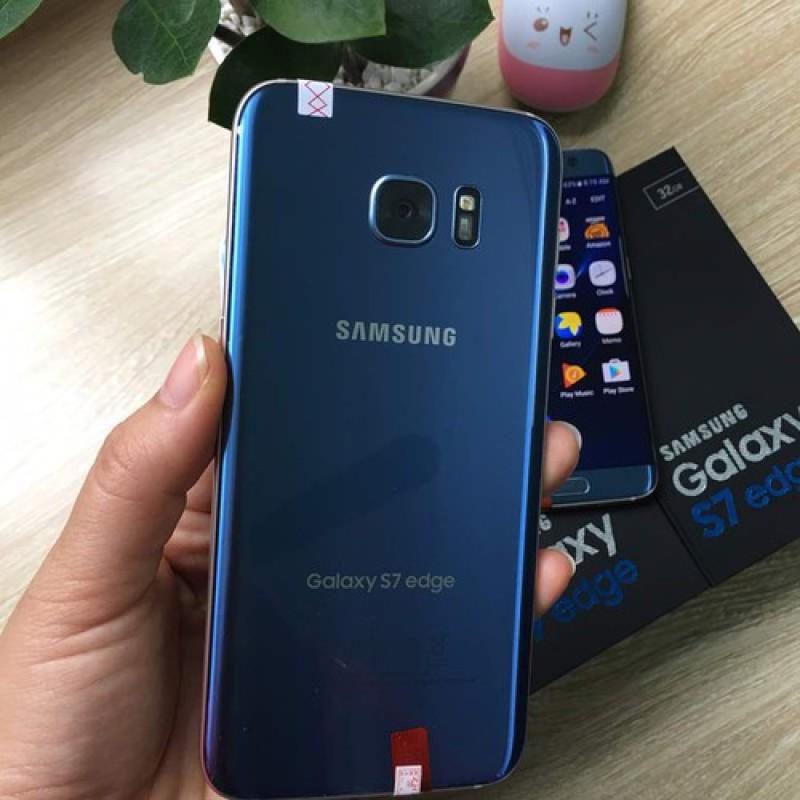 Điện Thoại Samsung Galaxy S7 Edge 2 Sim Cong Tràn Viền Mới Ram 4Gb Chính Hảng - bảo hành 1 năm - yên tâm mua sắm điện thoại giá rẻ - smartphone thông minh