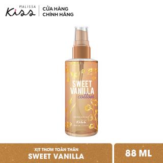 Xịt Thơm Toàn Thân Hương Nước Hoa Malissa Kiss - Hương Sweet Vanilla Cotton 88ml thumbnail