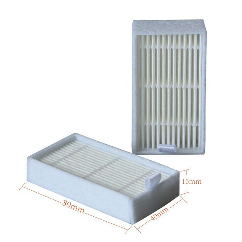 10x side Brush+5x hepa Filter+5xMop Cloth+5xmagic paste accessories for ilife v5s ilife v5 pro x5 V5 V3 V50 vacuum cleaner parts