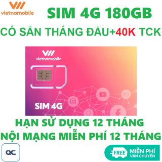 Sim 4G vietnamobile mỗi ngày 6GB tặng 40k miễn phí vận chuyển thumbnail