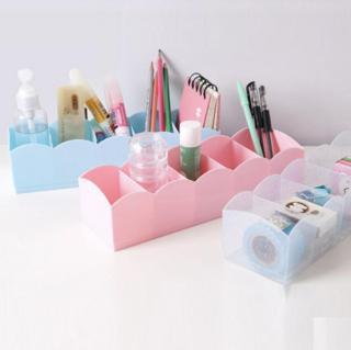 Kệ Nhựa Đựng Mỹ Phẩm dụng cụ văn phòng, đồ lót, vớ có 5 Ngăn thumbnail
