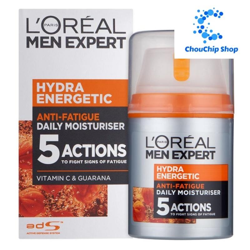 Kem dưỡng ẩm 5 tác động LOreal Men Expert Hydra Energetic Anti-Fatigue Moisturiser 50 ml