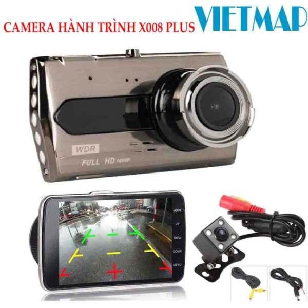 [ TẶNG KÈM THẺ NHỚ 32GB] Camera Hành Trình xe hơi X008 Tiếng Việt ( Trước + Sau), Ống kính: 170°,Chống rung,Lưu trữ video tối đa 45 ngày,hỗ trợ tiếng việt,tiếng anh,...Bảo Hành 6 tháng