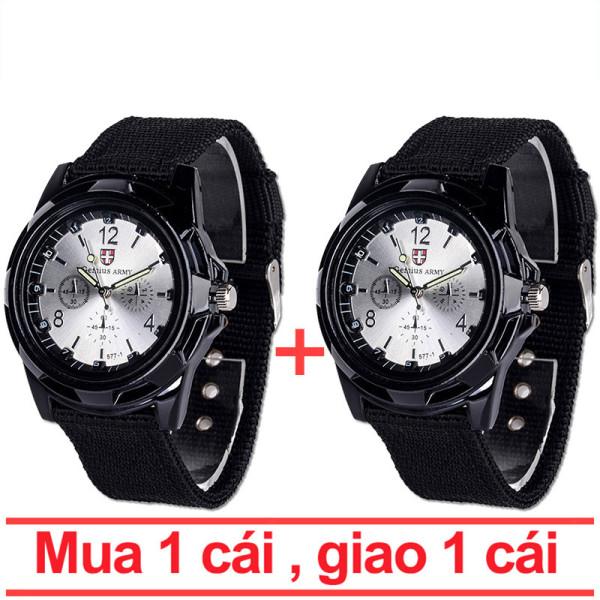 【Mua 1 tặng 1】Đồng hồ giá rẻ, Đồng hồ lính PK38 phù hợp cả nam và nữ