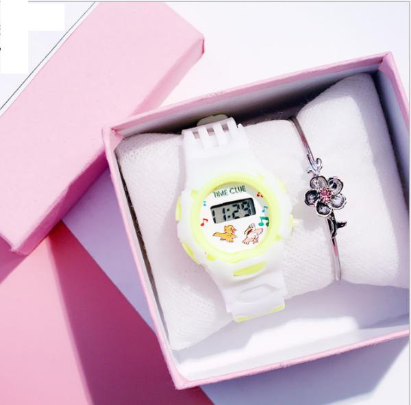 Nơi bán Đồng hồ trẻ em đeo tay thời trang chống thấm nước màn hình LEX kỹ thuật số chính hiệu TIME CLUE