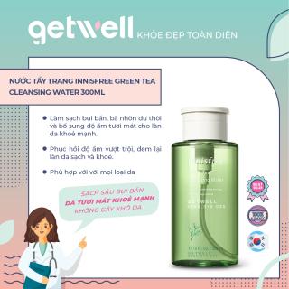 Nước tẩy trang từ trà xanh đảo Jeju Innisfree Green Tea Cleansing Water 300ml - thumbnail