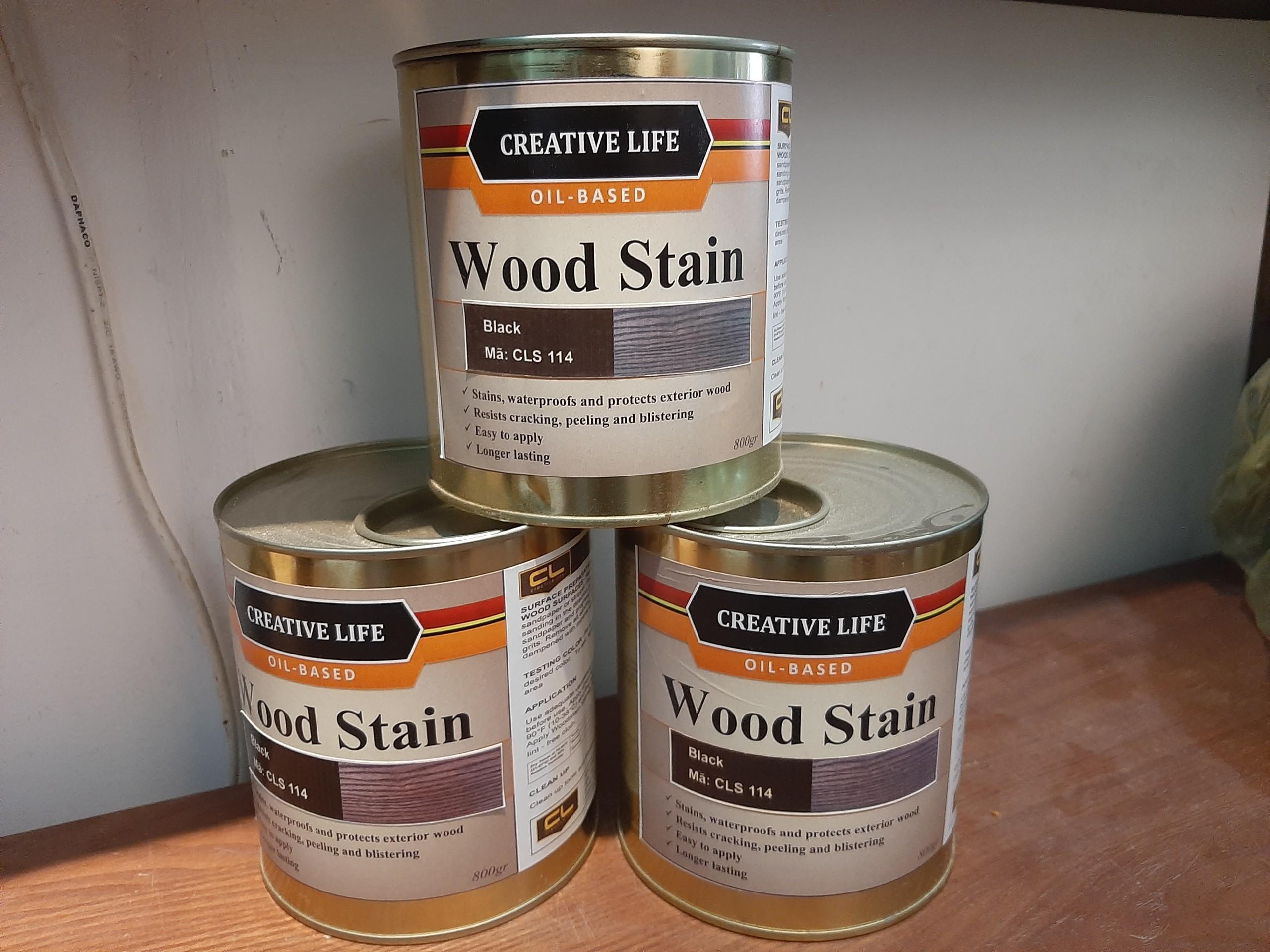 Sơn lau gỗ Wood Stain mã 110 LUXI decor