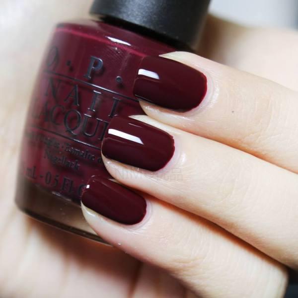 Sơn Móng Tay O.P.I ( OPI ) Màu Đỏ đô Sang Chảnh, Làm Đẹp cho Bàn tay, Nail Cao Cấp