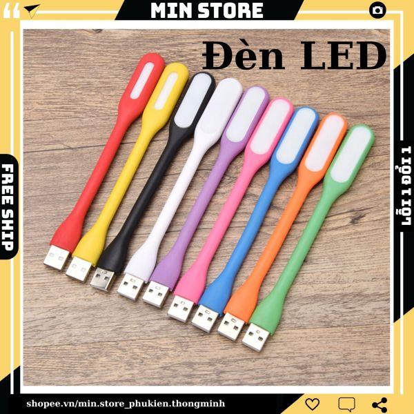 [HCM]Đèn LED Đọc Sách Cắm Cổng USB (Máy Tính Sạc dự phòng Ổ điện USB...) Tiện Dụng Gọn Nhẹ - Min STORE