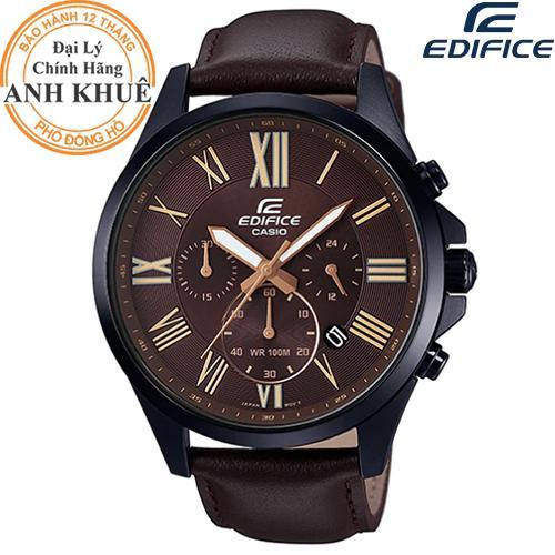 Đồng hồ EDIFICE chính hãng Casio Anh Khuê EFV-500BL-1AVDF bán chạy