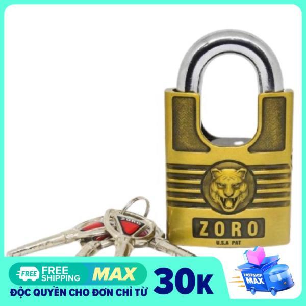 Ổ Khóa chống cắt ZORO 4 chìa, khóa cửa, khóa nhà, khóa chống trộm