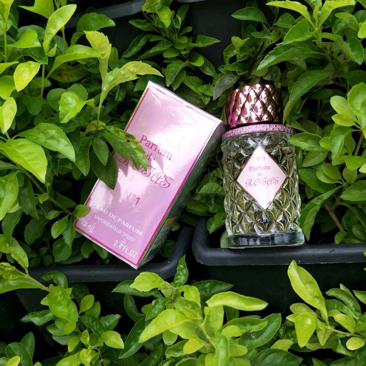 Nước hoa Nữ ROSAS N.1 70ml chính hãng