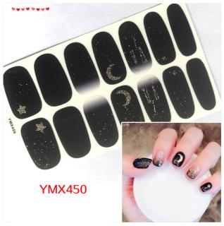 Dán móng tay 3d Sticker dán trang trí móng tay họa tiết dễ thương thumbnail