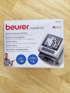 Máy đo huyết áp điện tử cổ tay Beurer BC30 thumbnail