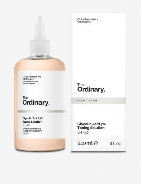 Nước hoa hồng tẩy da chết AHA The Ordinary Glycolic Acid 7% Toning Solution 240ml giá rẻ