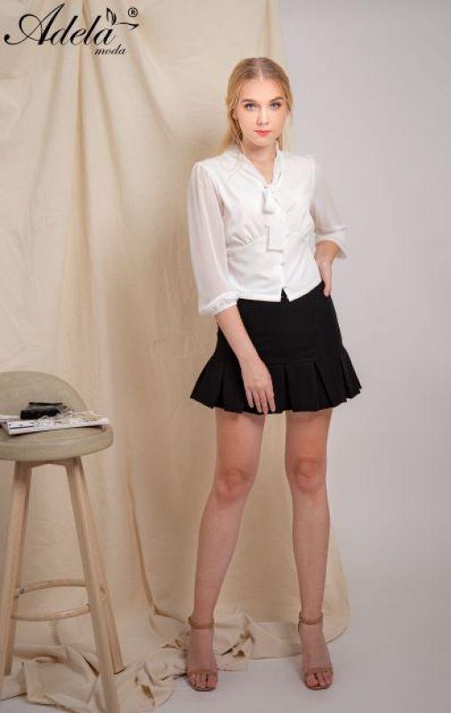ADELA MODA - A00615 - Chân váy lai xếp ly