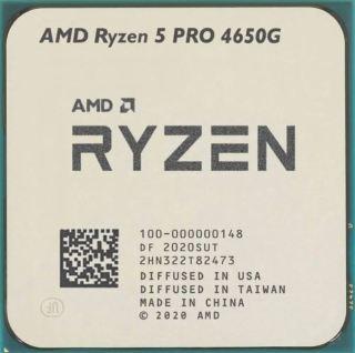 [Trả góp 0%]Bộ vi xử lý AMD RyzenTM 5 PRO 4650G MPK 6C 12T UPTO 4.2GHz (Tray Nobox) thumbnail