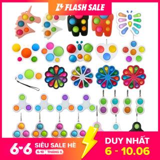 [Giá siêu rẻ] Đồ chơi giảm căng thẳng chất liệu sillicon an toàn, thiết kế nhiều màu sắc đa dạng kiểu dáng để lựa chọn - intl thumbnail