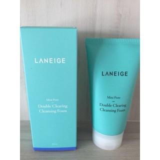 Sữa rửa mặt Laneige Mini Pore Double Clearing Cleansing Foam 150ml nhập khẩu-4453, đảm bảo cung cấp các sản phẩm đang được săn đón trên thị trường hiện nay thumbnail
