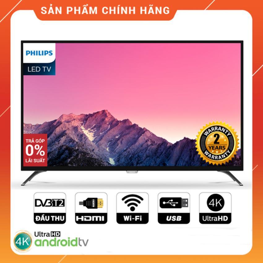 Bảng giá Smart Tivi Philips 43 inch Ultra HD 4K - Model 43PUT6002S/67 Tích hợp DVB-T2, Wifi