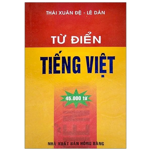 Fahasa - Từ Điển Tiếng Việt (45000 Từ)
