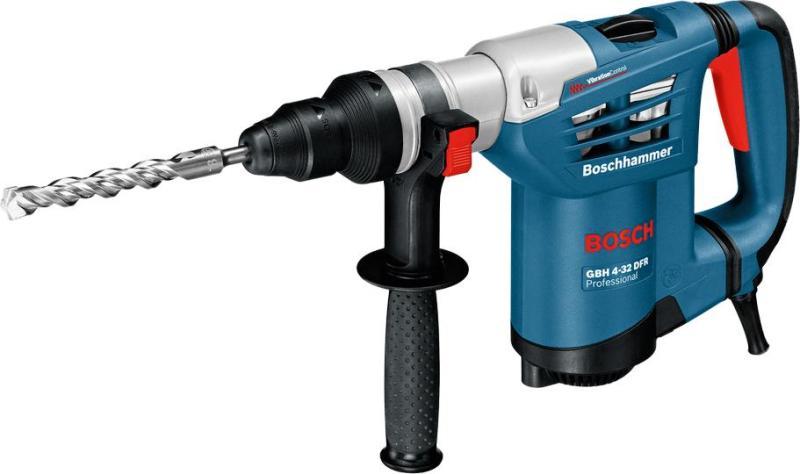 Máy Khoan Búa 900W Bosch GBH 4-32 DFR + Quà tặng áo mưa trị giá 100.000