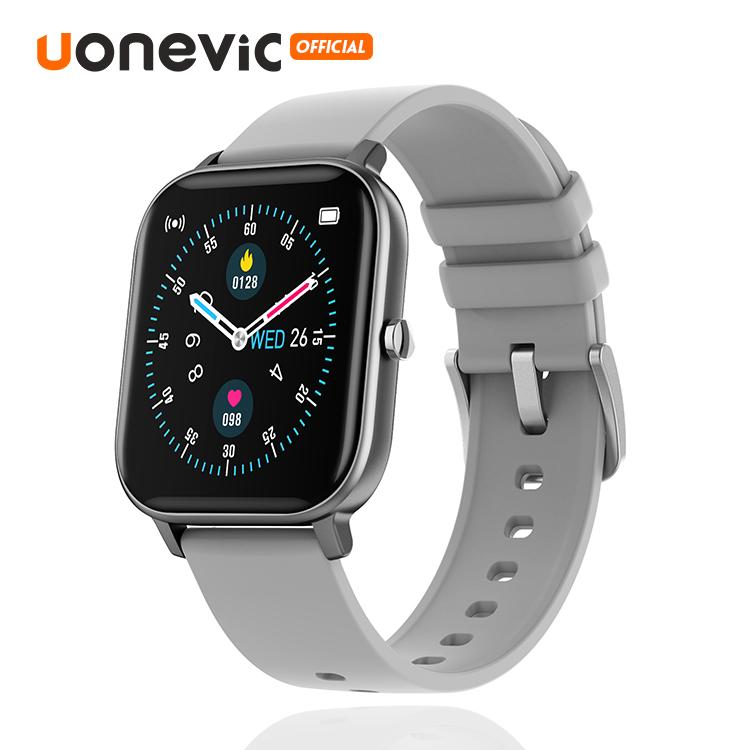 Đồng hồ thông minh Uonevic P8 Pro cho nam nữ PK P8 theo dõi sức khỏe cảm ứng chống nước IP67 Theo dõi nhiệt độ cơ thể - INTL