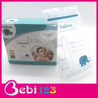 Hộp 30 túi trữ sữa Baby Babuu Nhật Bản 100ml thumbnail