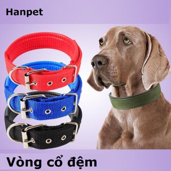 Miễn phí HCM>129k  - Vòng cổ đệm - Vòng cổ chó mèo Size S: 1.5*45cm  (thích hợp chó mèo 4-8kg)-Màu ngẫu nhiên