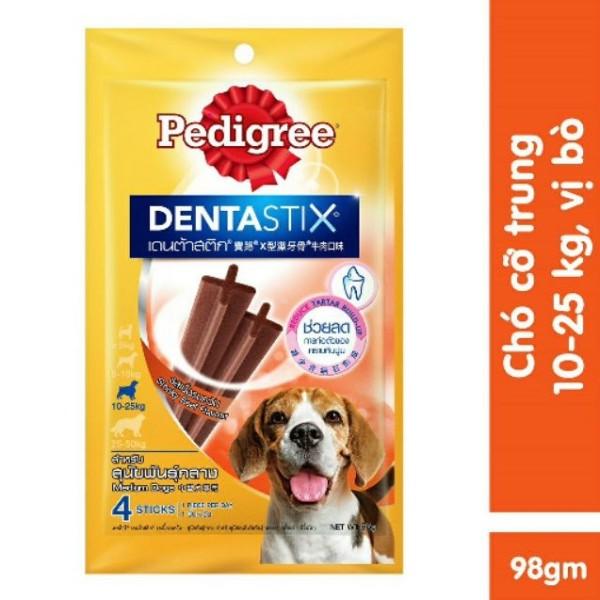 Bánh xương pedigree dentastix cho chó 98g
