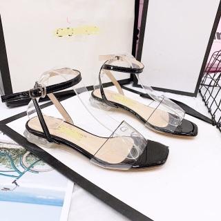 giày sandal quay trong đế đen thumbnail