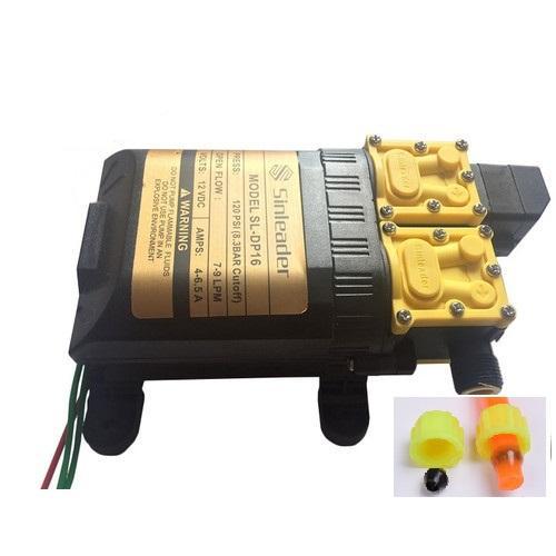 Máy bơm nước đôi mini 12v áp lực cao tự ngắt - máy bơm đôi tăng áp mini 12v - Bơm đôi