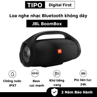 Loa Bluetooth JBL Boombox - Âm Thanh Siêu Bass Cực Mạnh - Chống Nước IPX7 - Loa Karaoke Công Suất Cực Lớn 60W - Loa Nghe Nhạc Treble Rời - Sửu Dụng 20h - Tương Thích Điện Thoại, Máy Tính, LapTop - BH 1 năm - Lỗi 1 đổi 1 thumbnail