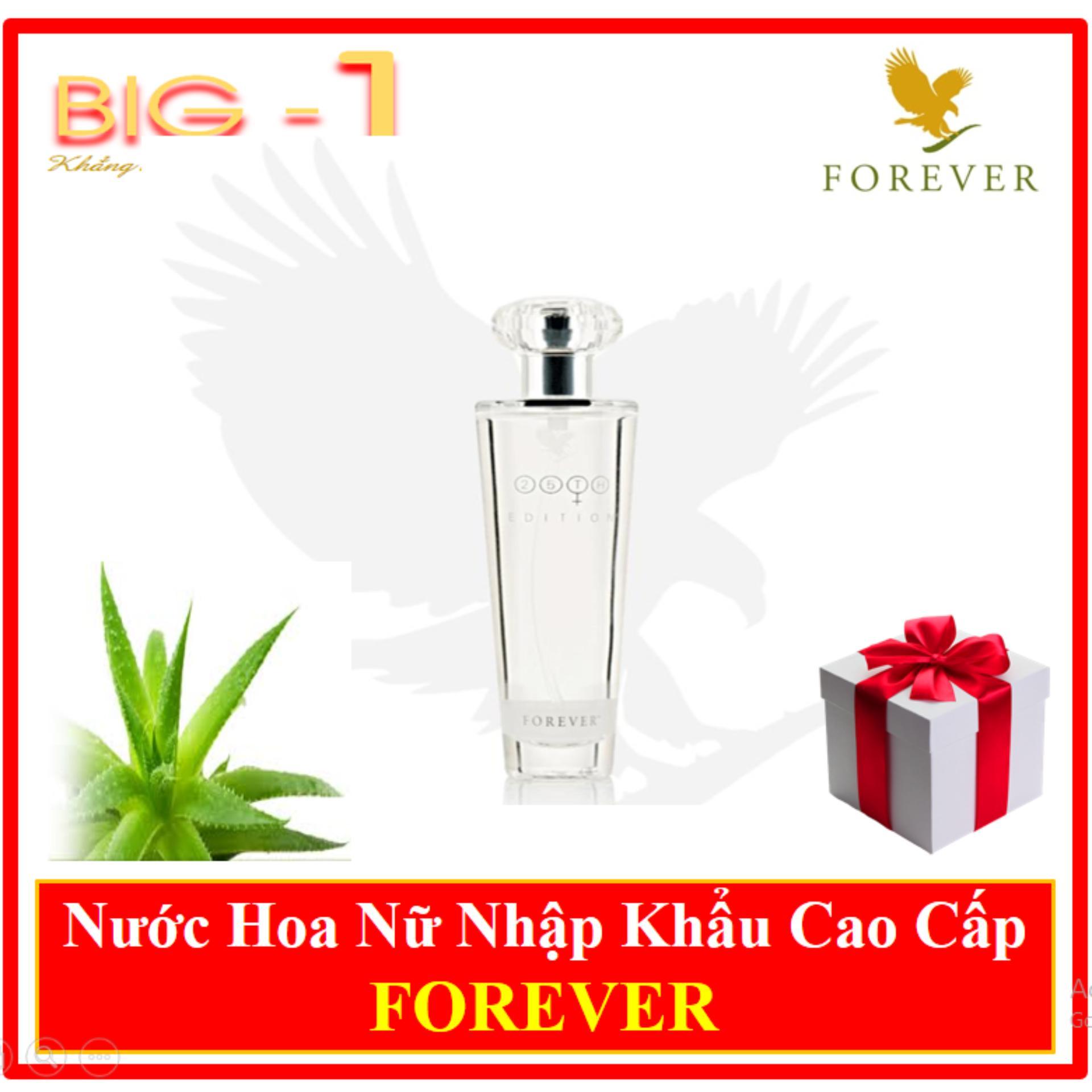 Nước hoa nữ cao cấp thiên nhiên Forever 25th Edition Perfume Spray for Women - tặng 50 ly giấy hàn quốc