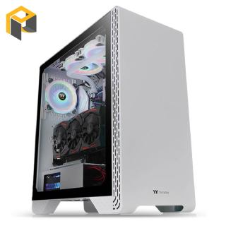 Vỏ Case Thermaltake S300 Tempered Glass Snow Edition Mid-Tower Chassis (CA-1P5-00M6WN-00) thumbnail