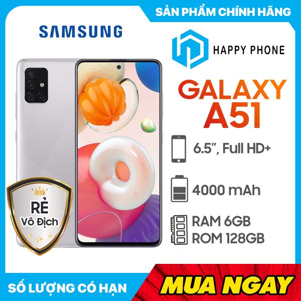 [Trả góp 0%] Điện Thoại Samsung Galaxy A51 (128GB/6GB) - Hàng chính hãng mới 100% Nguyên seal Bảo hành 12 tháng chính hãng