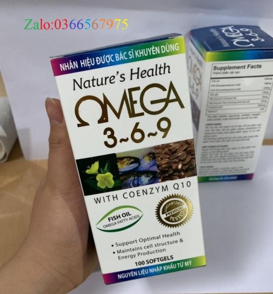 OMEGA 369 - Bí quyết tăng cường trí nhớ, ngăn ngừa bệnh tim mạch, dinh dưỡng cho đôi mắt sáng và làn da mịn màng