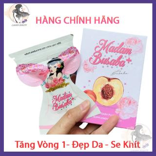 Hộp 5 Gói Tăng Vòng 1 Madam Busaba + Thái Lan, Nở Ngực Đẹp Da, gói 7 viên Claura Beauty CBBUSABA thumbnail