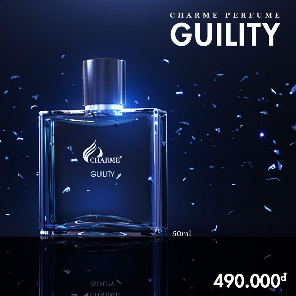 Nước hoa nam Guility - NAM TÍNH, ĐẲNG CẤP VÀ SANG TRỌNG (50ML) chính hãng