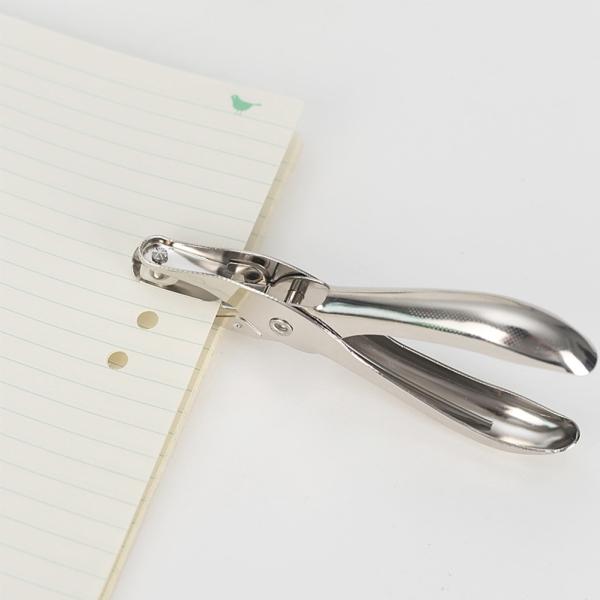 Mua Giá mùa bão Kìm bấm lổ giấy - Bấm lổ tròn trên giấy,bề mặt bìa mỏng cầm tay mini (13x5,5cm)