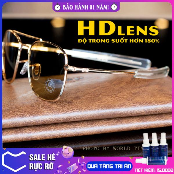 Giá bán Kính mát nam AO6126 mắt Polarized cao cấp , full hộp , khăn , thẻ , bảo hành 12 tháng