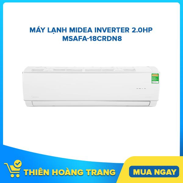 Bảng giá Máy lạnh Midea Inverter 2.0Hp MSAFA-18CRDN8
