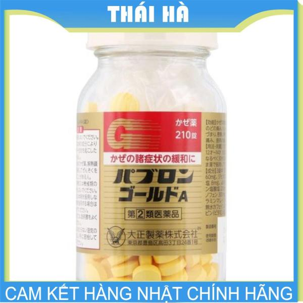 [HCM]Viên Uống Cảm Cúm Taisho Pabron Gold 210 Viên