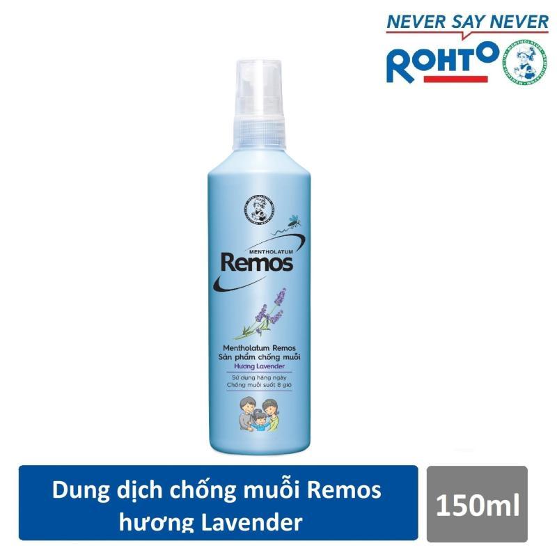 Dung dịch chống muỗi Rohto Mentholatum Remos Hương Lavender 150ml giá rẻ