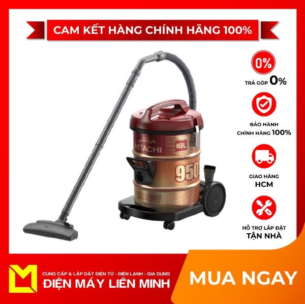 HÚT BỤI HITACHI CV-950F 24CV(WR) - có hai chế độ hút, ống hút nối dài được, dễ dàng sử dụng mọi nơi trong nhà bạn. Chổi hút bụi và đầu hút khe ở ngăn chứa phụ tùng gọn gàng.